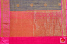 Handwoven Pure Banarasi Silk Saree - Matka Silk - PM 35 - Archives