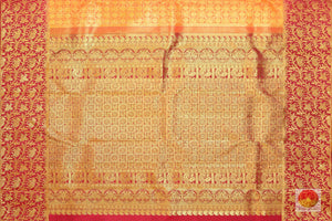 pallu of traditional design kanjivaram saree