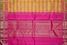 pallu of traditional design kanjvaram pure silk saree