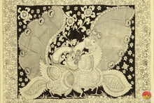 pallu details of kalamkari saree