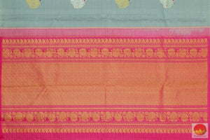 pallu of kanchipuram saree