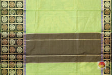 Handwoven Banarasi Silk Cotton Saree - PSC 342 Archives