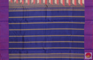 pallu details of kanjivaram silk saree