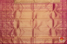 Load image into Gallery viewer, pallu detail of kanjivaram pure silk saree