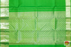 Traditional Design - Handwoven Pure Silk Kanjivaram Saree - Pure Zari - PV G 1902 Archives