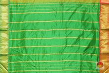 second pallu of 9 yards kanjivaram saree