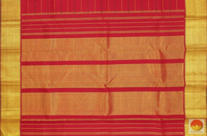 pallur detail of kanjivaram silk saree