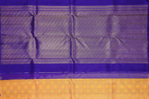 Traditional Design Handwoven Kanjivaram Pure Silk Saree - Pure Zari - PVA 0418 1292 Archives