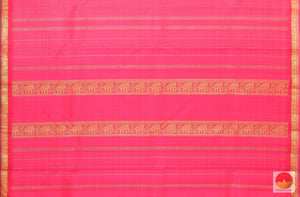 pallu of kanchipuram silk saree