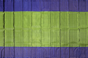 Green body of traditional design kanjivaram silk saree