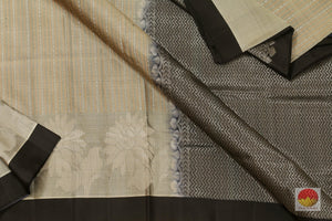 fabric detail of kanjivaram jute silk saree