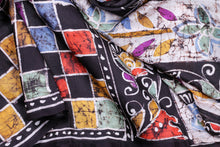 Handpainted Batik Silk Saree - PB04 Archives