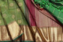 Traditional design handwoven kanjivaram saree