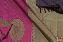 Load image into Gallery viewer, body, border and pallu of kanjivaram silk saree