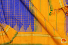 Load image into Gallery viewer, fabric details of kanjivaram silk saree
