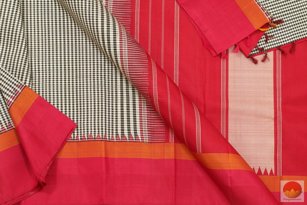 fabric details in kanjivaram silk saree