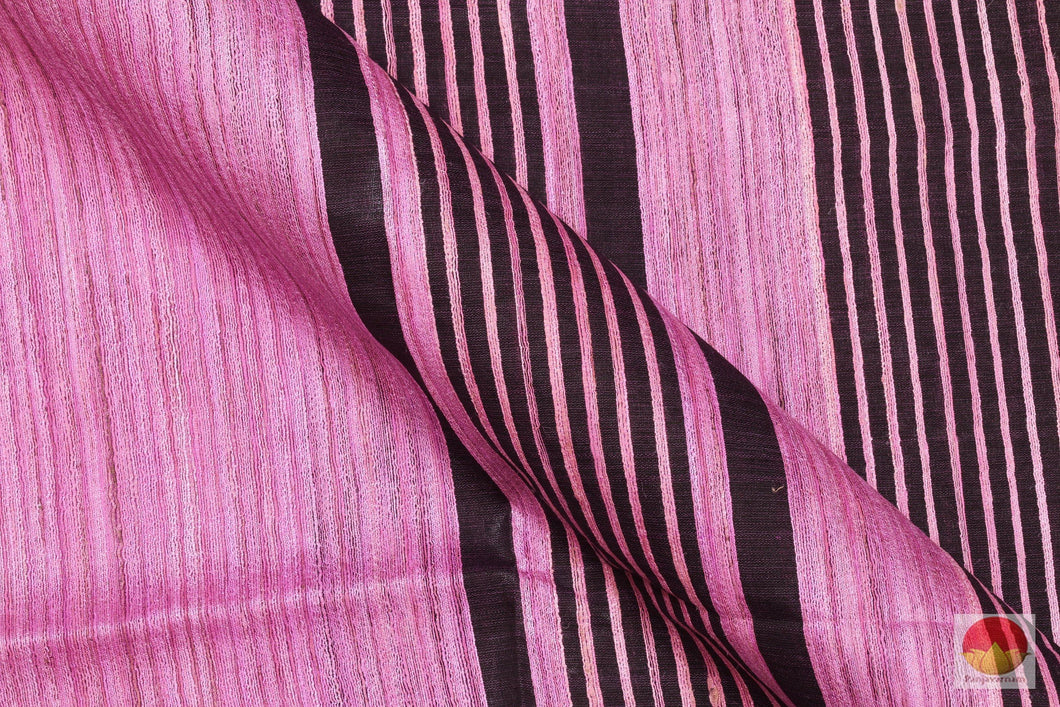 Handwoven Pure Tussar Silk Saree - Sambalpuri - ST 16 Archives