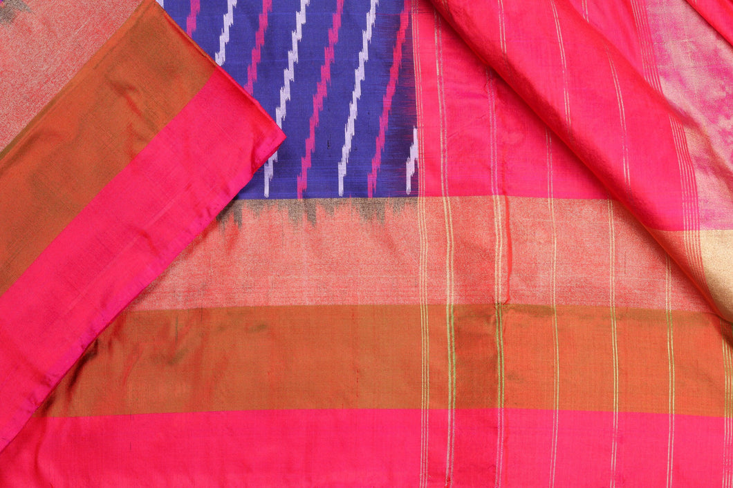 Panjavarnam Pochampally Silk Saree PPF 008