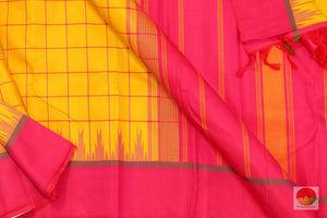 fabric details of kanjivaram silk saree