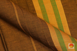 Handwoven Cotton Saree - PC UN 1 Archives
