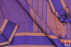 Handwoven Silk Cotton Saree - Aiyiram Butta - KC 532 - Archives
