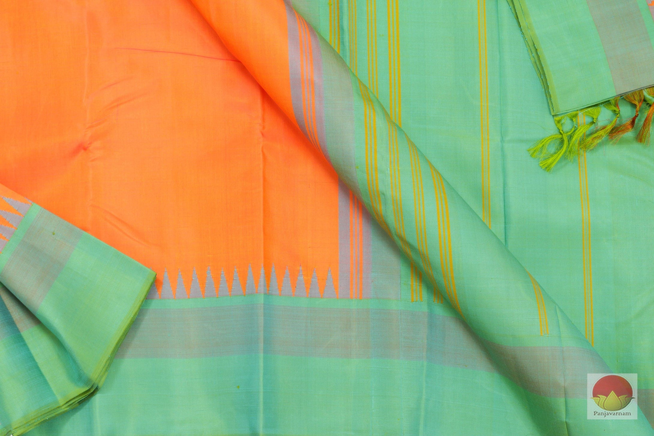 fabric details of kanchipuram silk saree