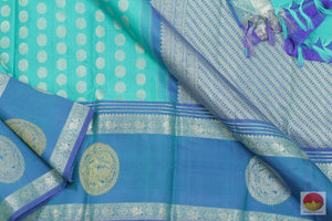 Kanchipuram Silk Saree - Handwoven Pure Silk - Pure Zari - PV SVS 2046
