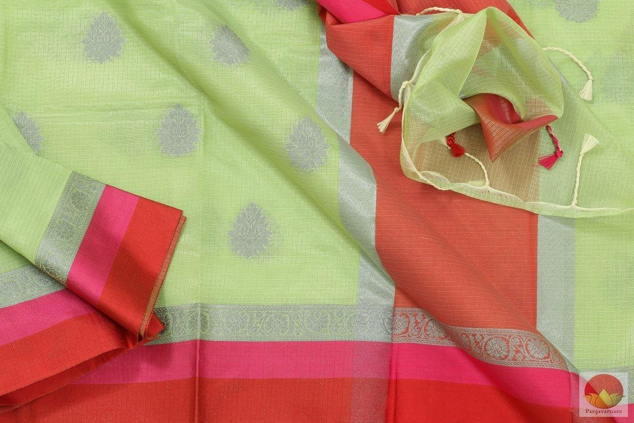 fabric details of banarasi silk cotton saree