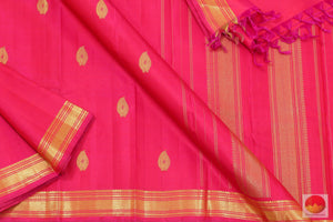 Kanchipuram Silk Saree - Handwoven Pure Silk - Pure Zari - PV SVS 2033 Archives