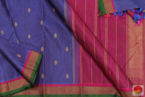 body, pallu and border of kanchipuram silk saree