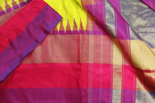 Border design of pochampally silk saree