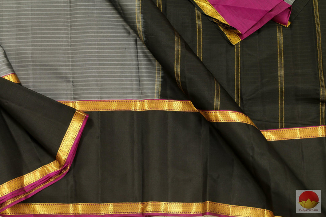 Lite Weight - Kanchipuram Silk Saree - Handwoven Silk - PVASB 01 Archives