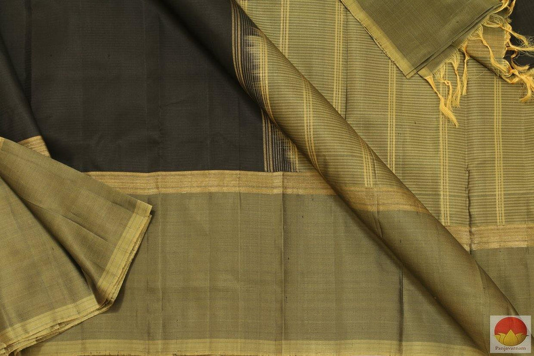 Lite Weight - Handwoven Pure Silk Kanjivaram Saree - PV RM 126 Archives