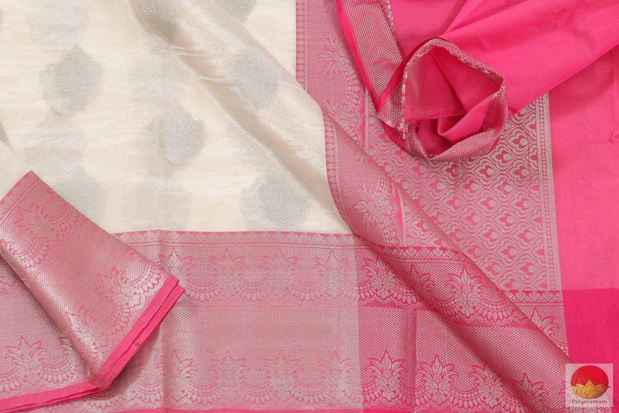 fabric details of banarasi tissue by cotton saree