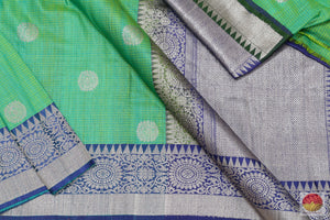 Handwoven Banarasi Silk Saree - Matka Silk - PM 55