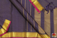 Load image into Gallery viewer, body and pallu of kanjivaram silk saree