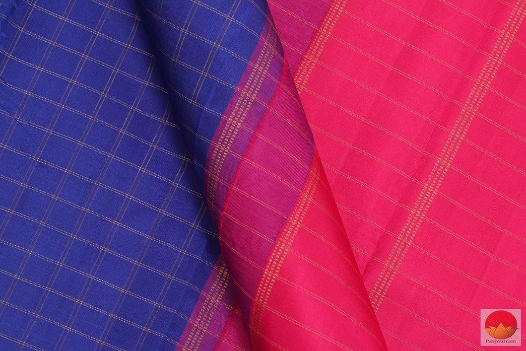 Borderless - Handwoven Kanchipuram Silk Saree - Pure Zari - PV G 4165