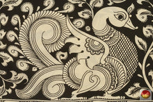 motif detail of kalamkari silk saree