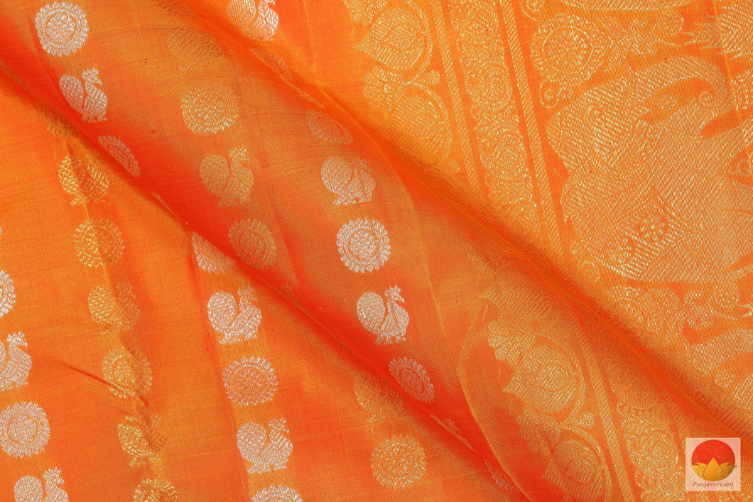 fabric detail of kanjivaram pure silk saree
