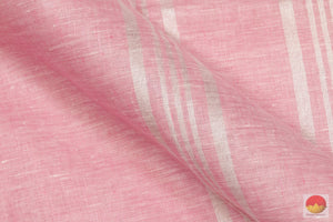 Handwoven Linen Saree - PL 204 Archives