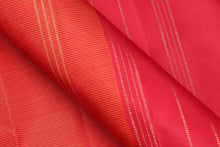 Traditional design kanjivaram pure silk sari in red
