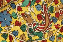 Handpainted Kalamkari Silk Saree - organic Dyes - PKBD 211 Archives
