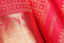 Traditional Design Handwoven Pure Silk Kanjivaram Saree - Bridal Saree - PBR 004 Archives