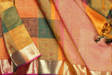 body and border of  odiya style  kanjivaram pure silk saree