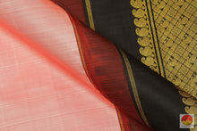 Gheva & Black - Handwoven Pure Silk Kanjivaram Saree - Pure Zari - PV SVS 01A Archives