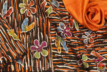 Handpainted Batik Pure Silk Saree - PB 157 Archives
