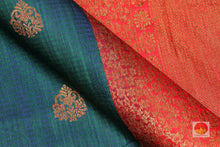 Handwoven Banarasi Pure Silk Saree - Matka Silk - PM 38 Archives