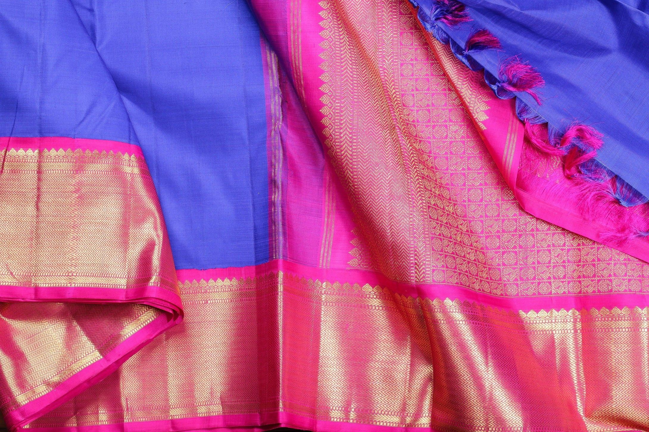 Traditional Design Kanjivaram pure silk sari