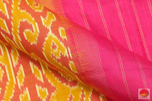 Pochampally Ikkat Saree - Handwoven Pure Silk - PIK 100 - 3