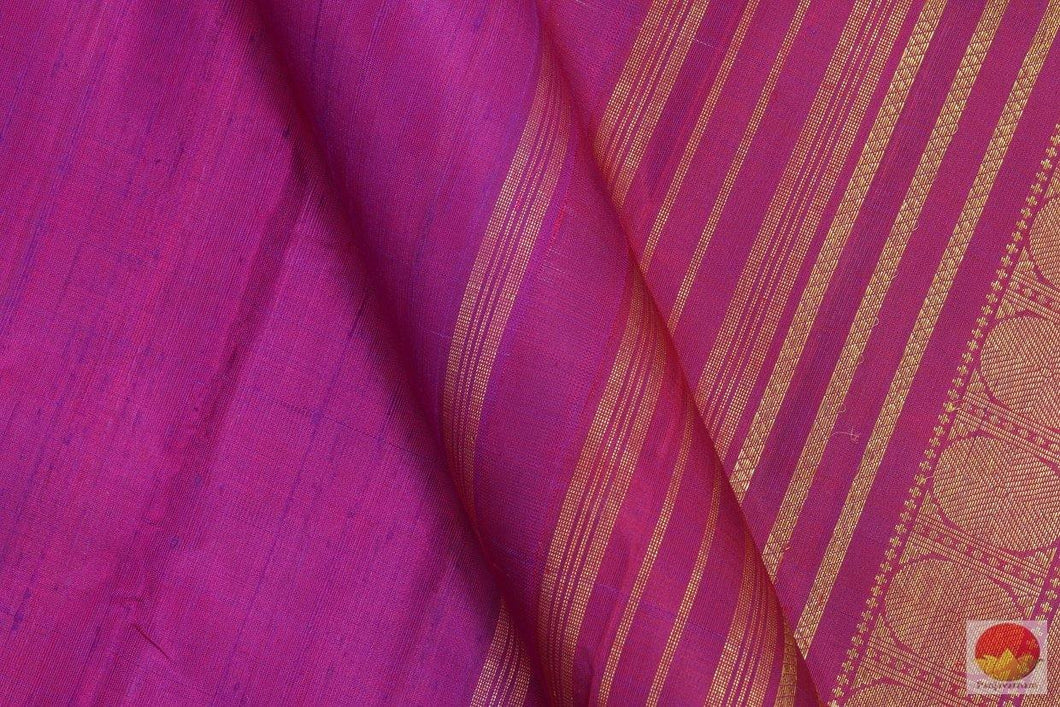 fabric detail of kanjivaram silk saree